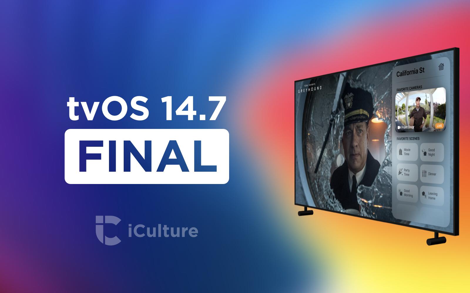 tvOS 14.7 Final.