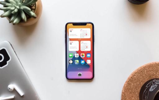 Agenda-widgets op iPhone