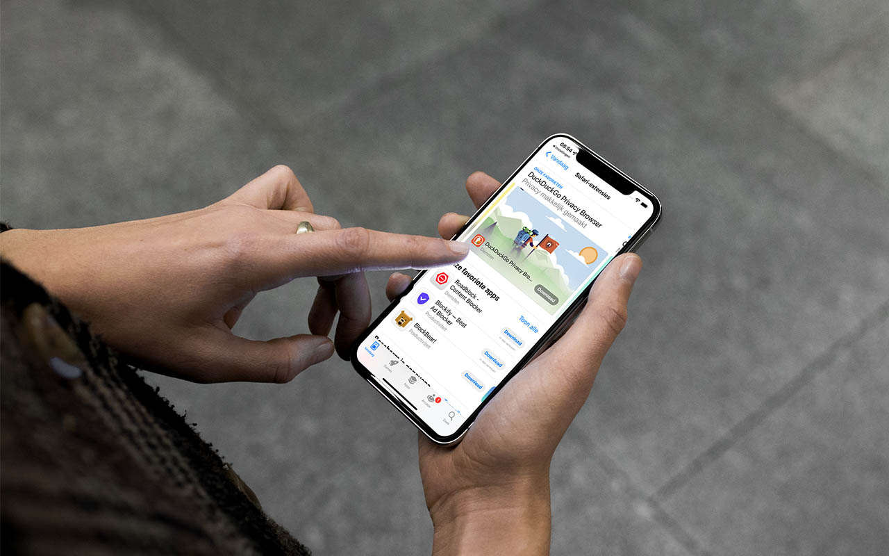 Safari-extensies op iPhone en iPad