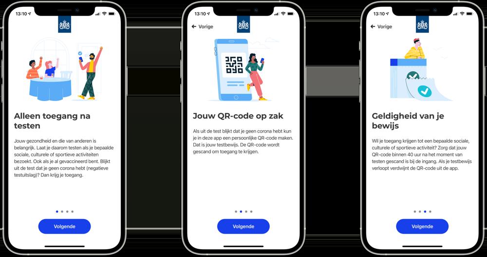 CoronaCheck-app introductie.