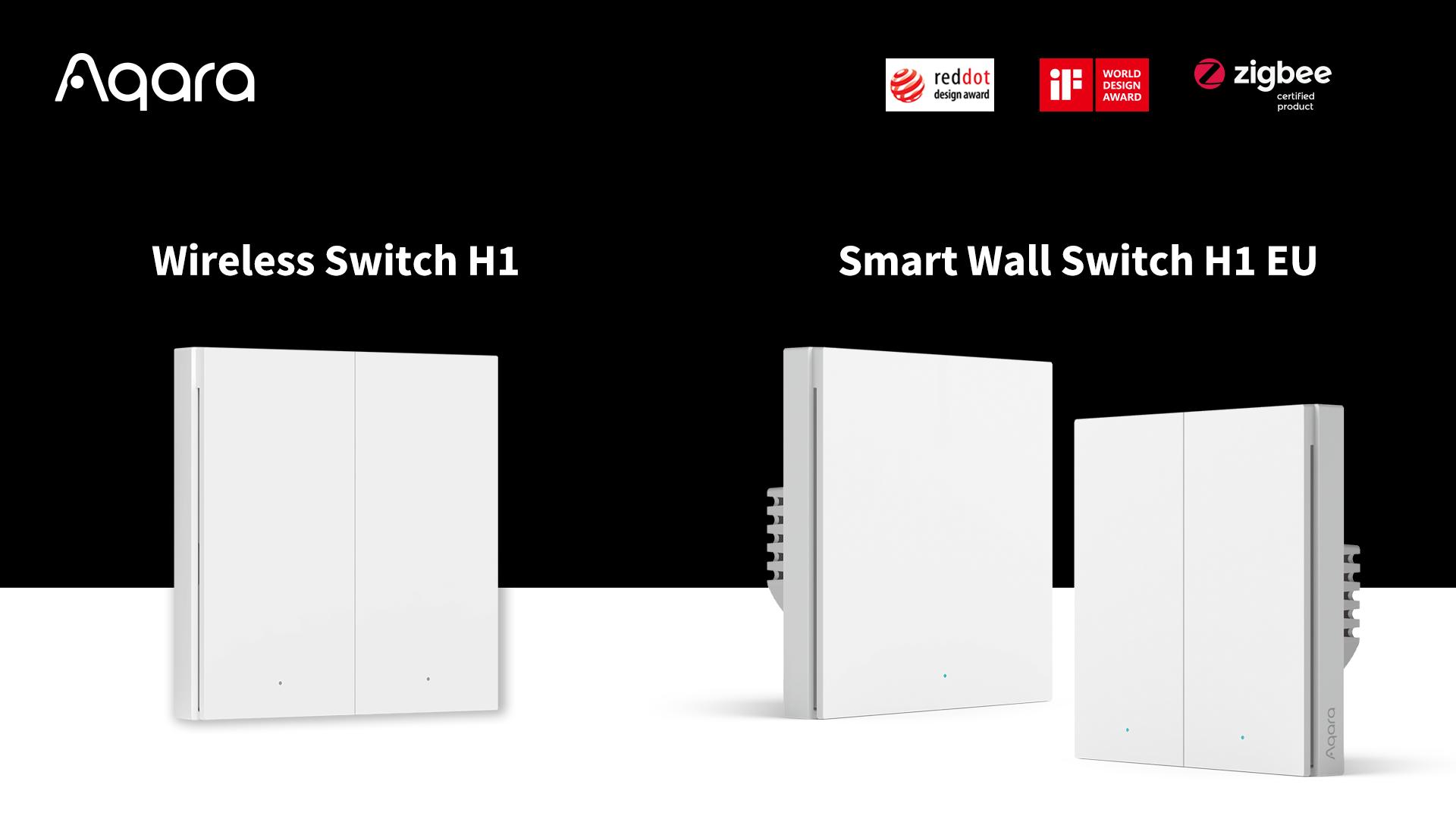 Aqara Smart Wall Switch EU wandschakelaar met HomeKit.