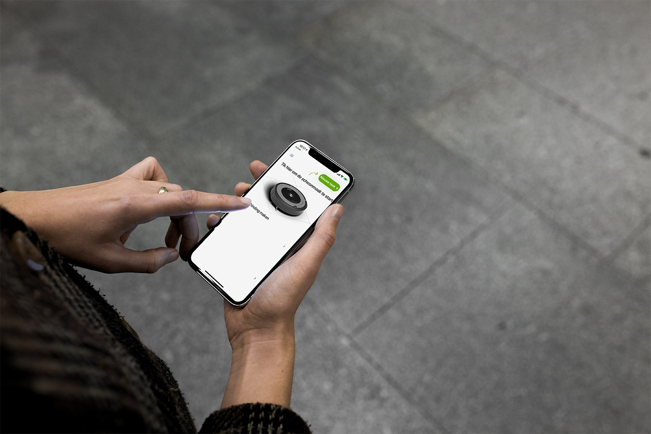 Roomba i3+ app