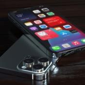 iPhone 13 Pro concept met scherm.