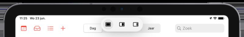 Multitask knop iPadOS 15