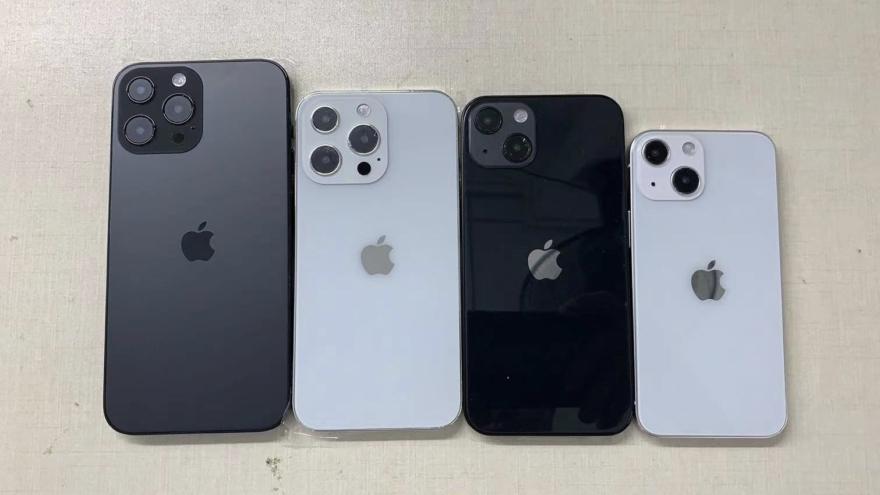 iPhone 13 dummies met design.