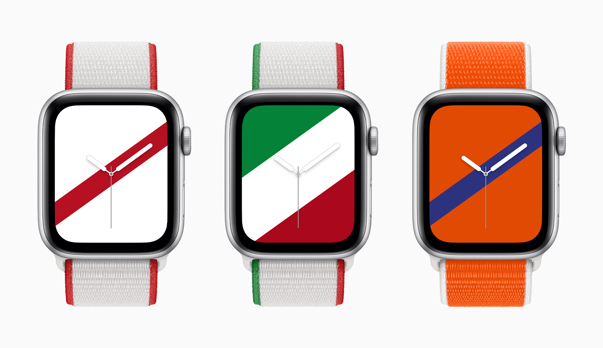 Apple Watch International Collection: Japan, Mexico, Nederland.
