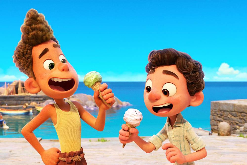 Luca Pixar film op Disney