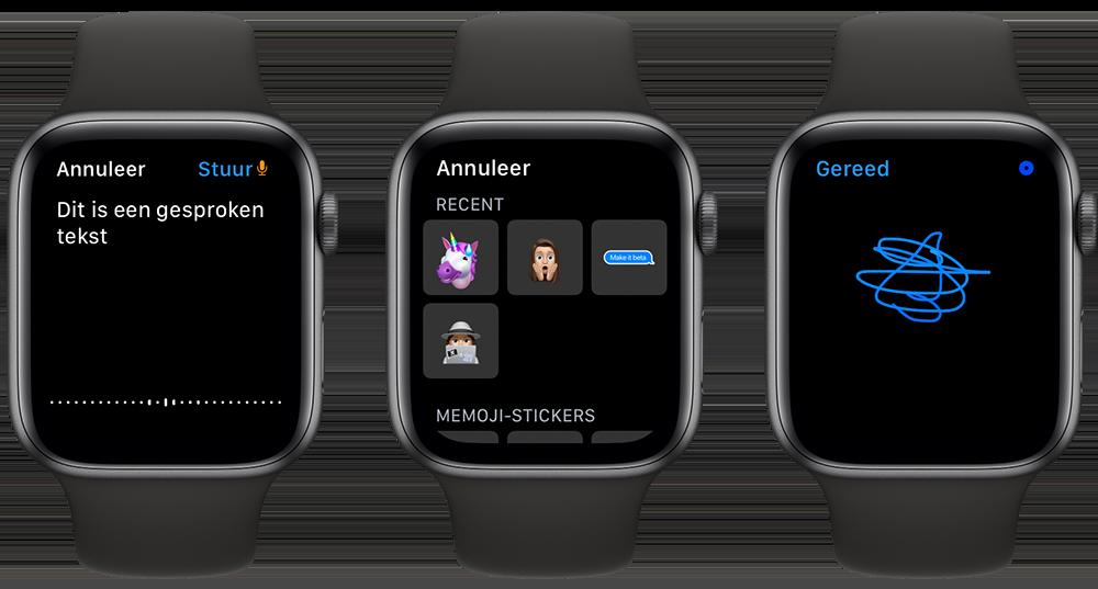 iMessage reageren met spraak, emoji en Tapback
