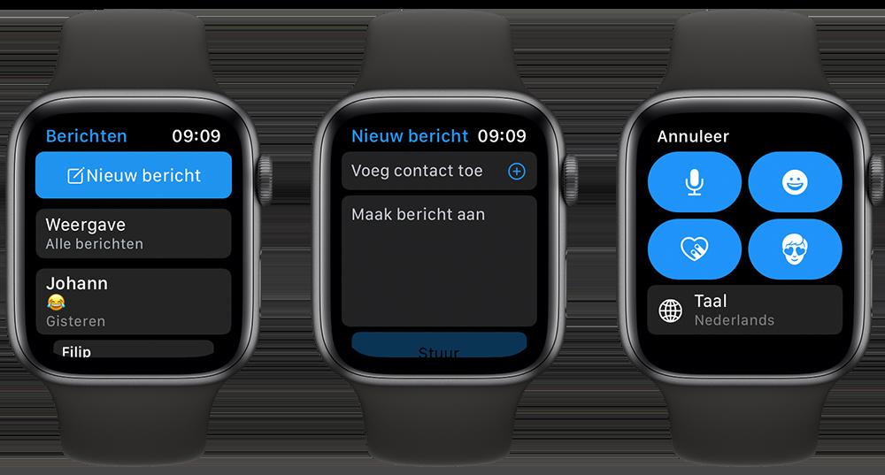 iMessage Apple Watch nieuw bericht