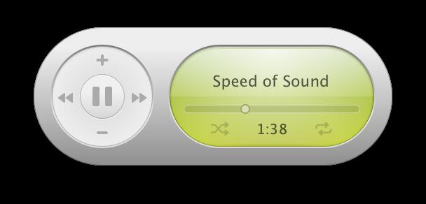Music Widget iTunes 2005