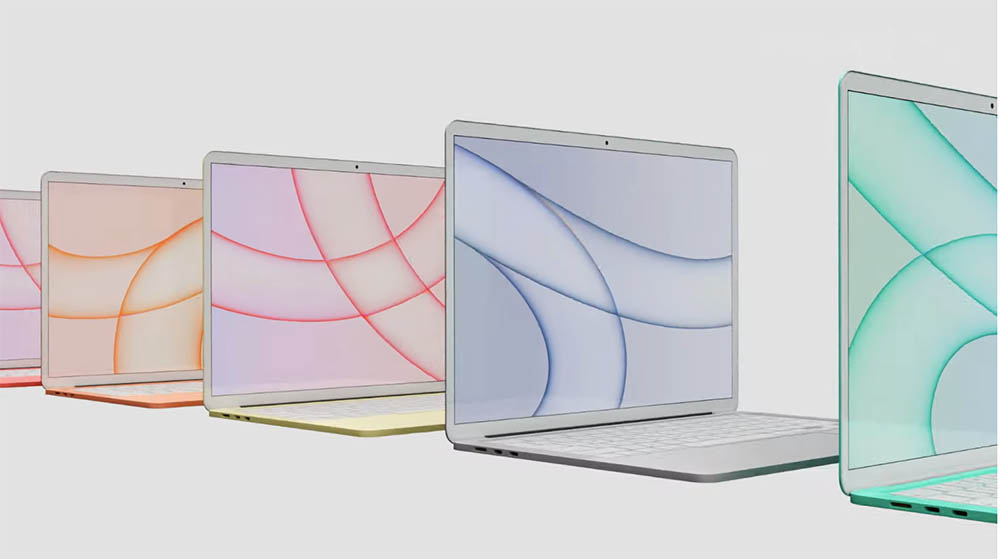 Kleurrijke MacBook Air in 2022