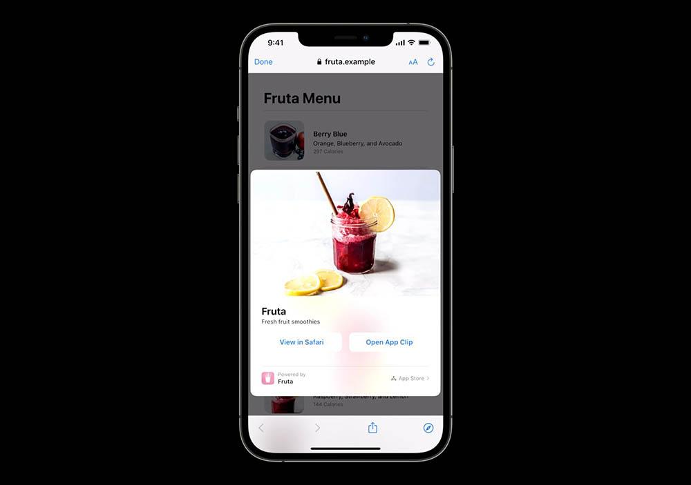 App Clips in iOS 15