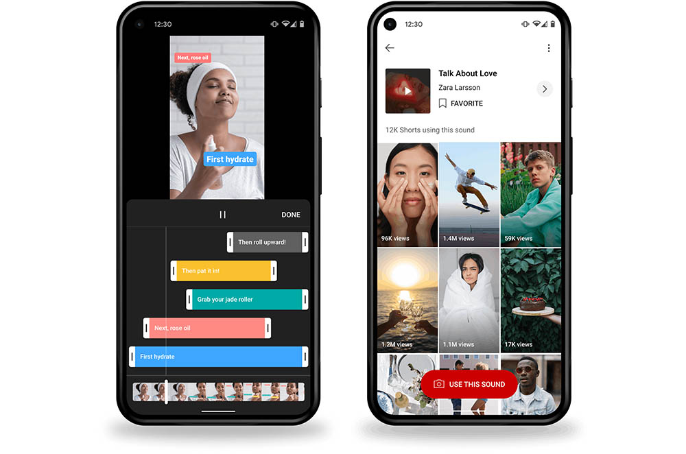 YouTube Shorts devices