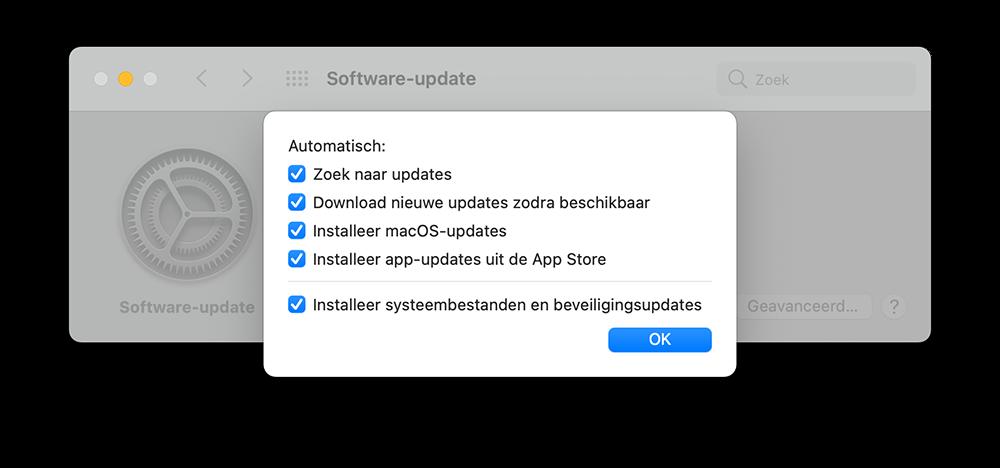 macOS automatisch updaten