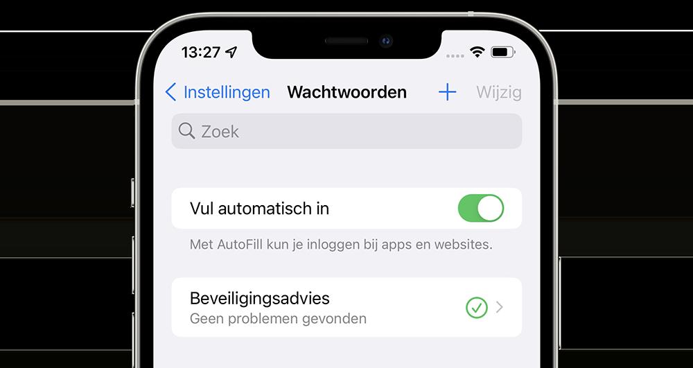Autofill iPhone