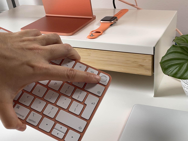Touch ID op iMac 2021