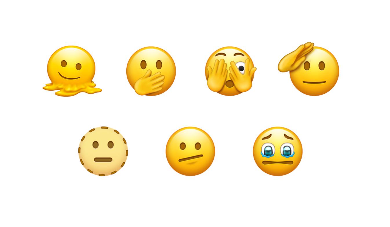 Emoji 2021 gezichten