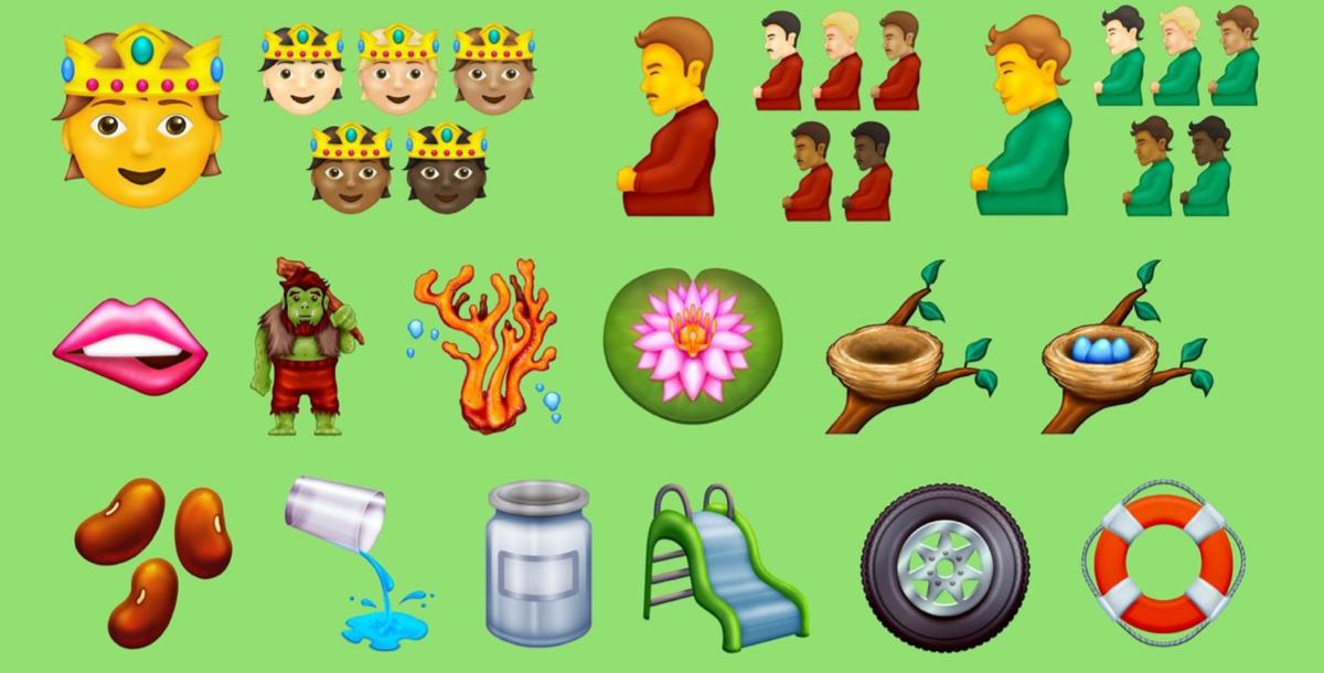 Emoji 2021 voorbeelden