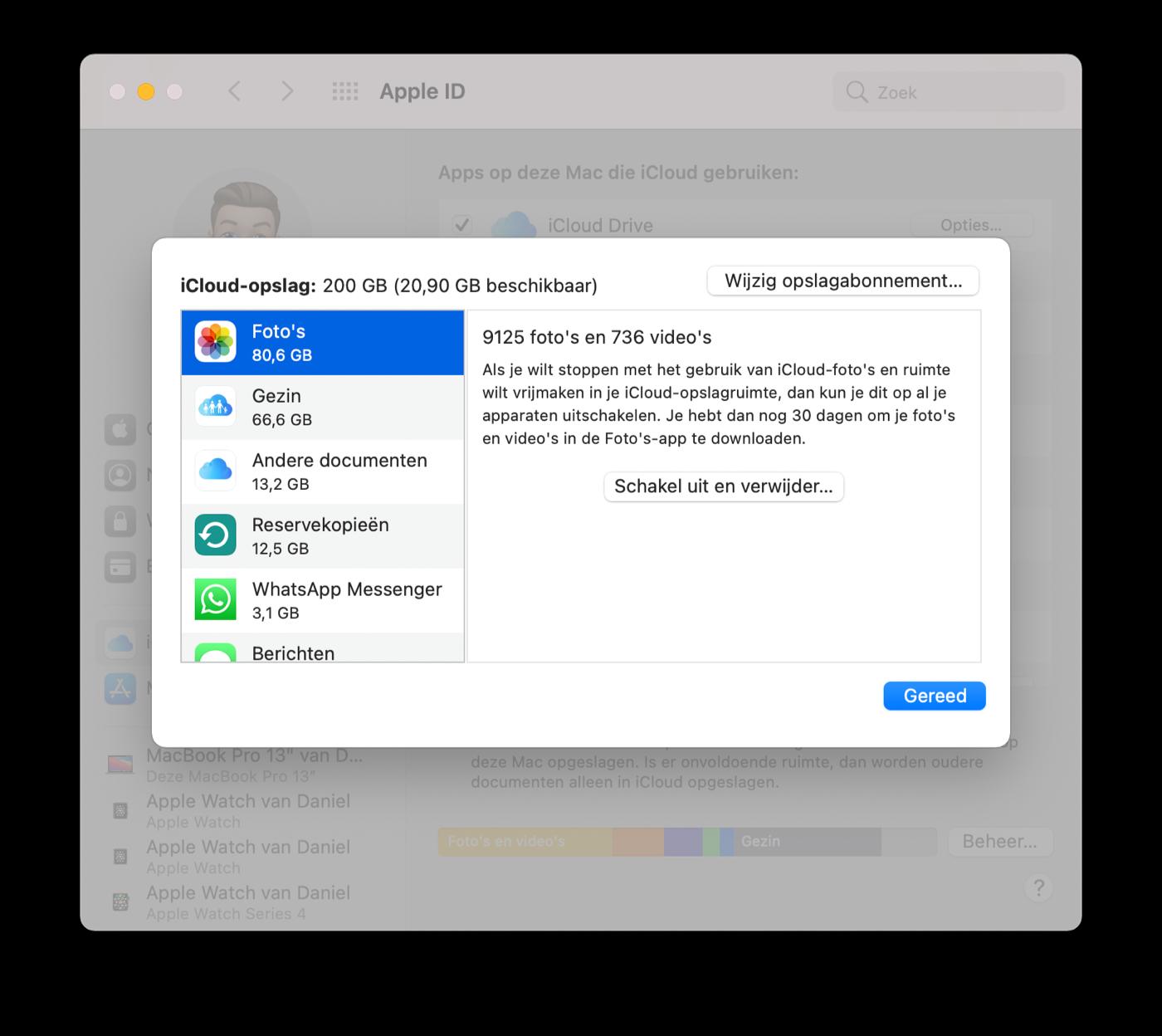 iCloud Fotobibliotheek uitschakelen Mac