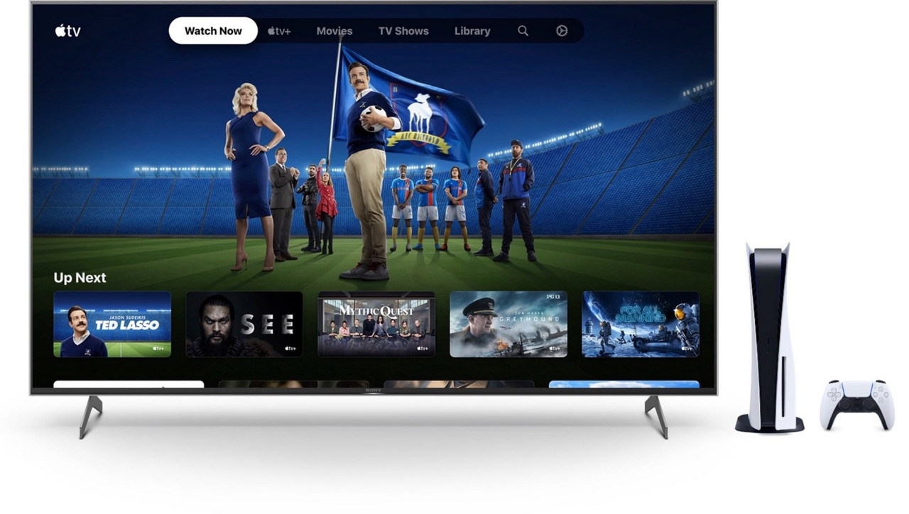 Apple TV-app op PlayStation 5.