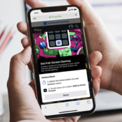 Facebook gaming in webapp