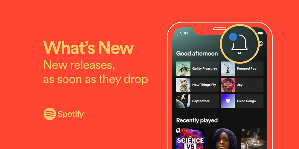 Spotify What's New