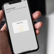 Herstel door te schudden bij een typfout op iPhone.