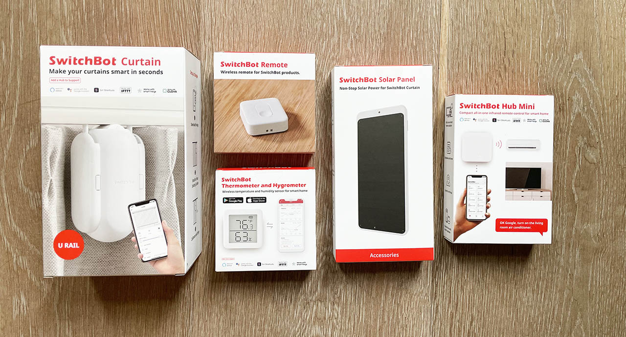 SwitchBot Curtain review: accessoires