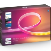 Philips Hue Gradient Lightstrip Ambiance verpakking: meerkleurige lichtslang.
