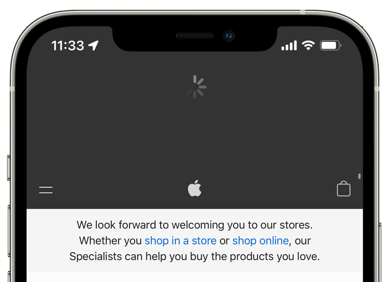 Pull to refresh Safari iOS 15