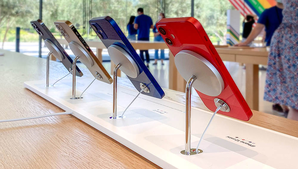 MagSafe iPhone-stand Apple Store
