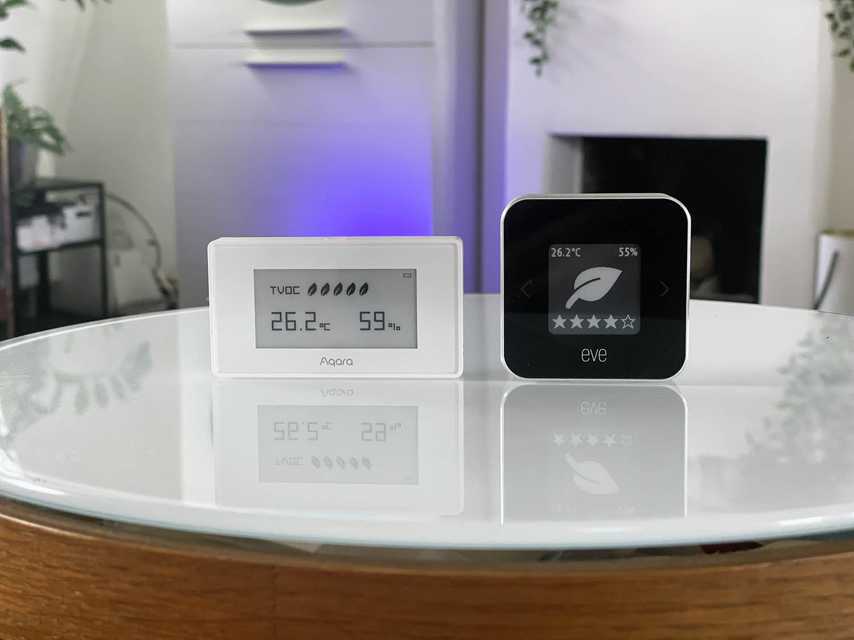 Aqara TVOC sensor review vs Eve