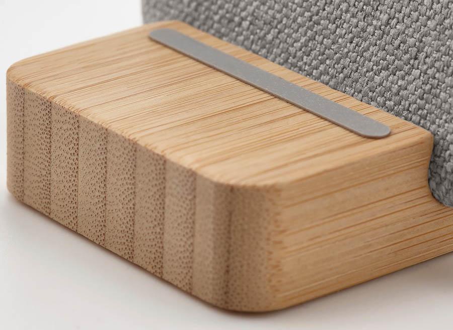 Nordmarke houder voor draadloos opladen: bamboe voet