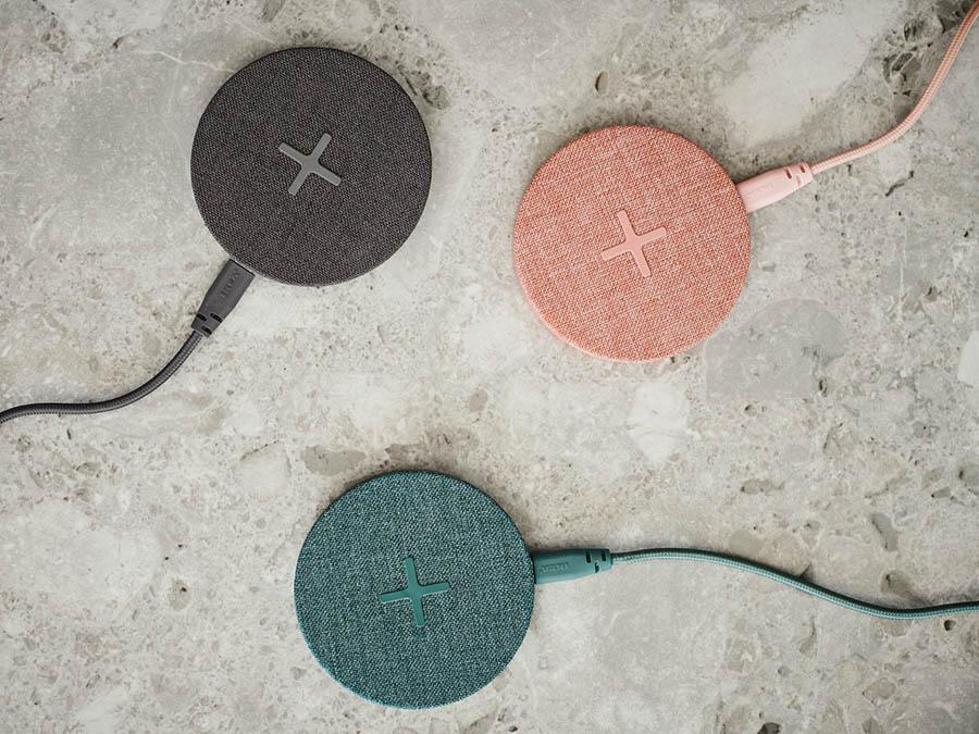 Nordmarke houder voor draadloos opladen: textiel opladers