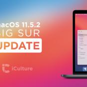 macOS 11.5.2 update.