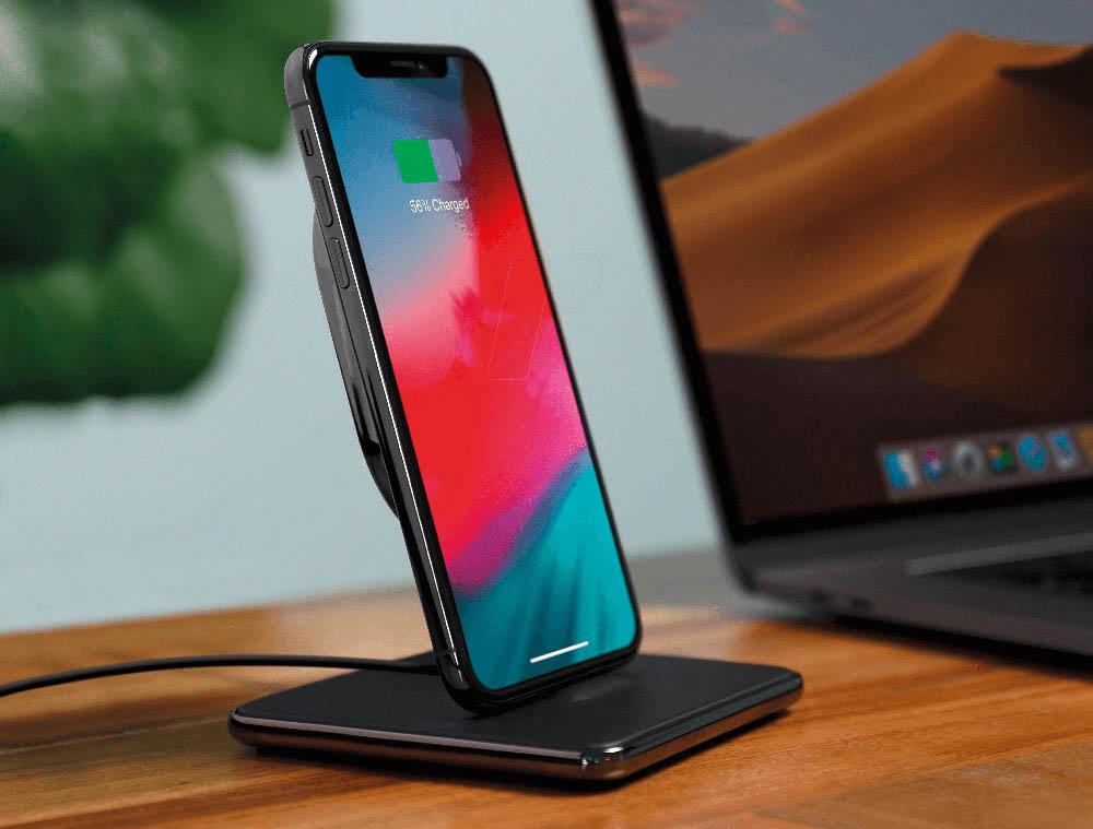 iPhone-dock op je bureau