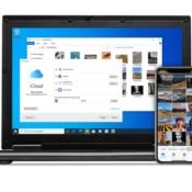 iCloud voor Windows met instellingen en foto's.