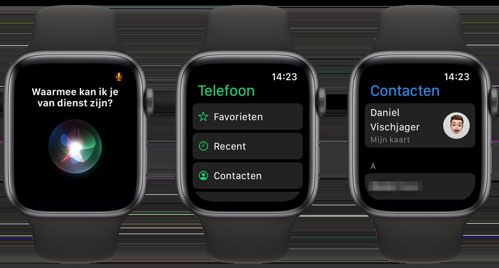 Bellen met de Apple Watch
