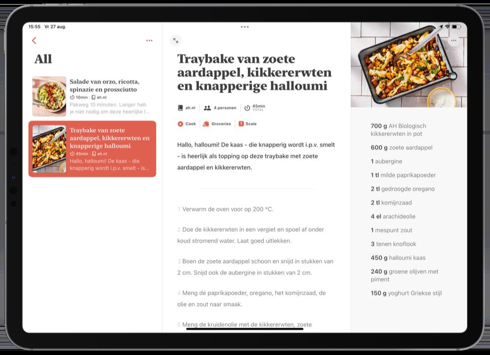 Mela recepten app