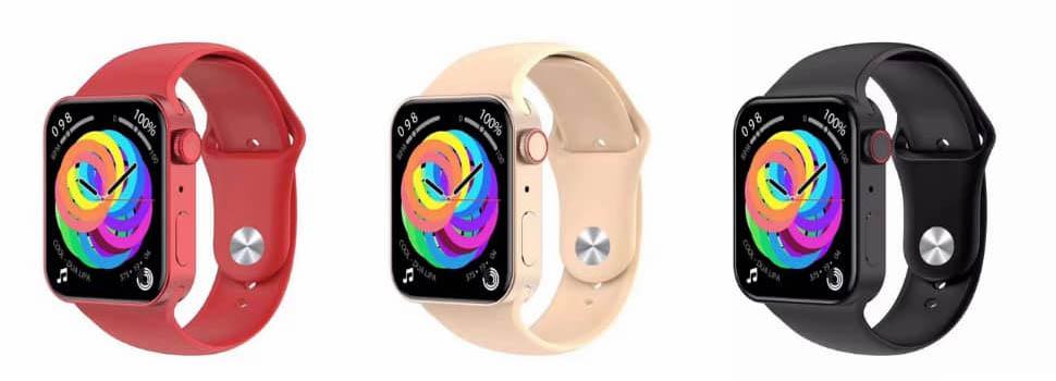 Apple Watch Series 7 plat design