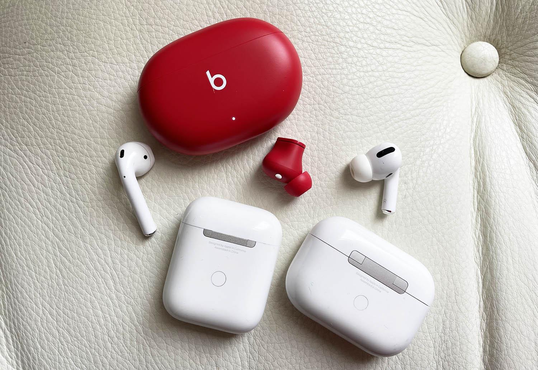 AirPods en Beats Studio Buds