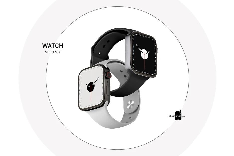 Apple Watch Series 7 design render.