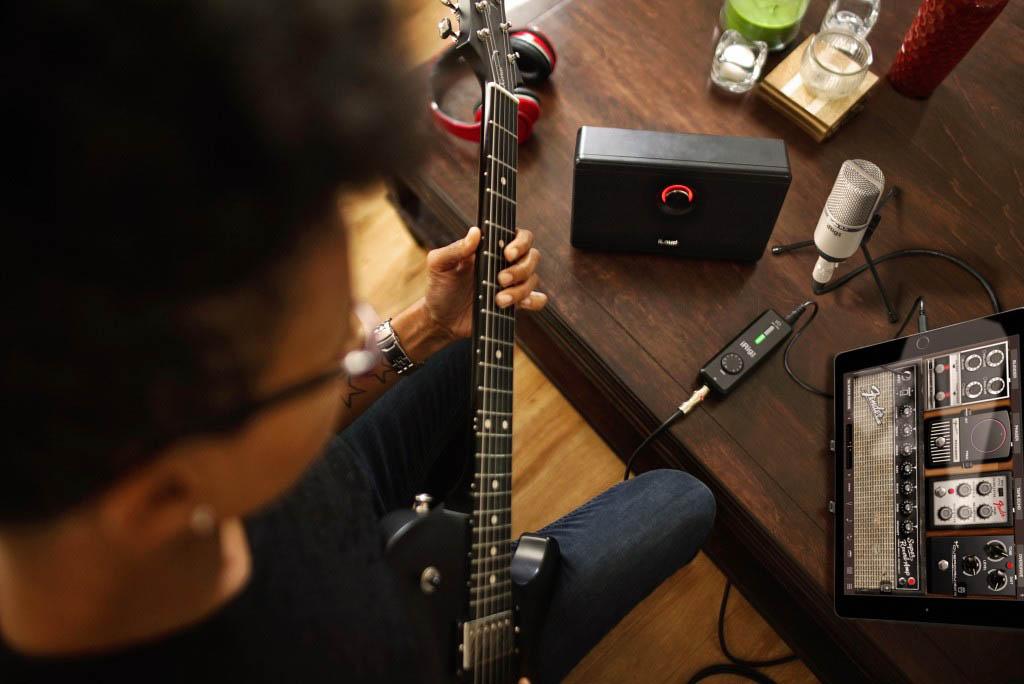Muziekstudio iPad