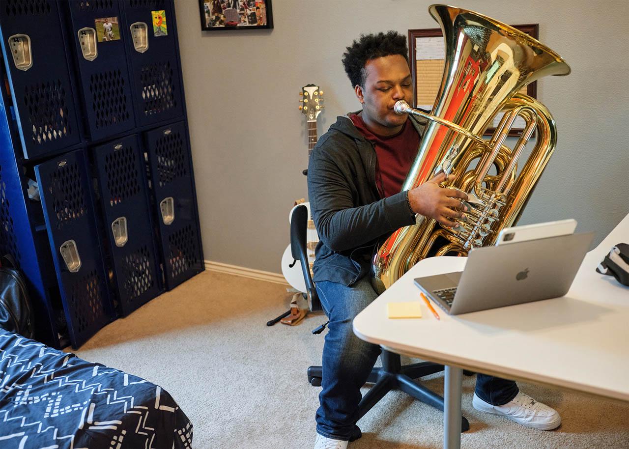 iPad muziekstudio