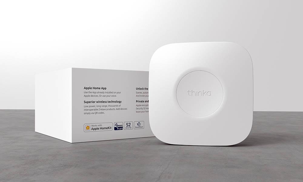 Thinka Z-Wave hub in verpakking