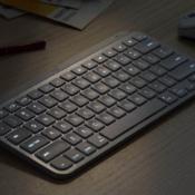 Logitech MX Keys Mini in gebruik