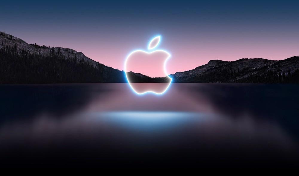 Header van Apple iPhone-event van september 2021.