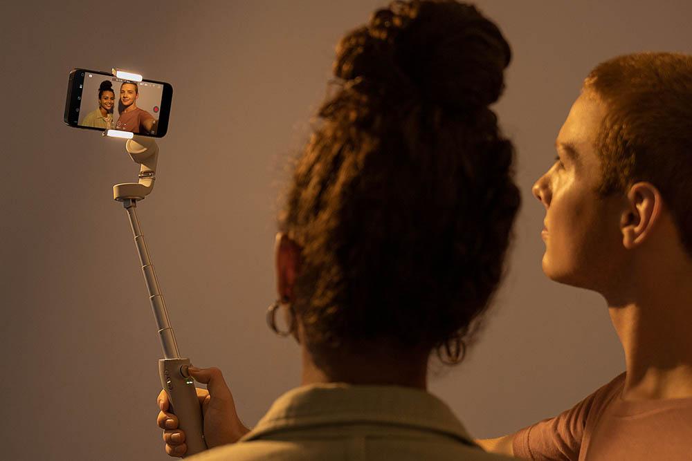 DJI Osmo Mobile 5 selfies