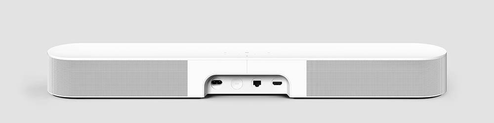 Sonos Beam 2 achterkant wit
