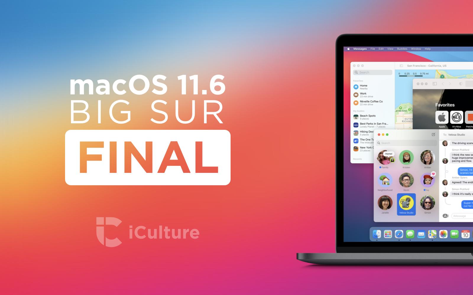 macOS Big Sur 11.6.
